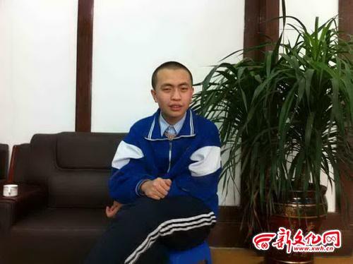 15岁的刘通 本报记者 王威 摄