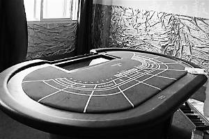 赌场内部。