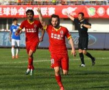 长春亚泰主场2-0战胜河南建业 取得本赛季主场