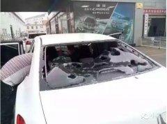 辽宁葫芦岛突降鸡蛋大冰雹 车窗及房屋门窗遭殃
