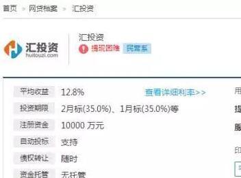 北京P2P汇投资疑被查:涉9万用户 已人去楼空